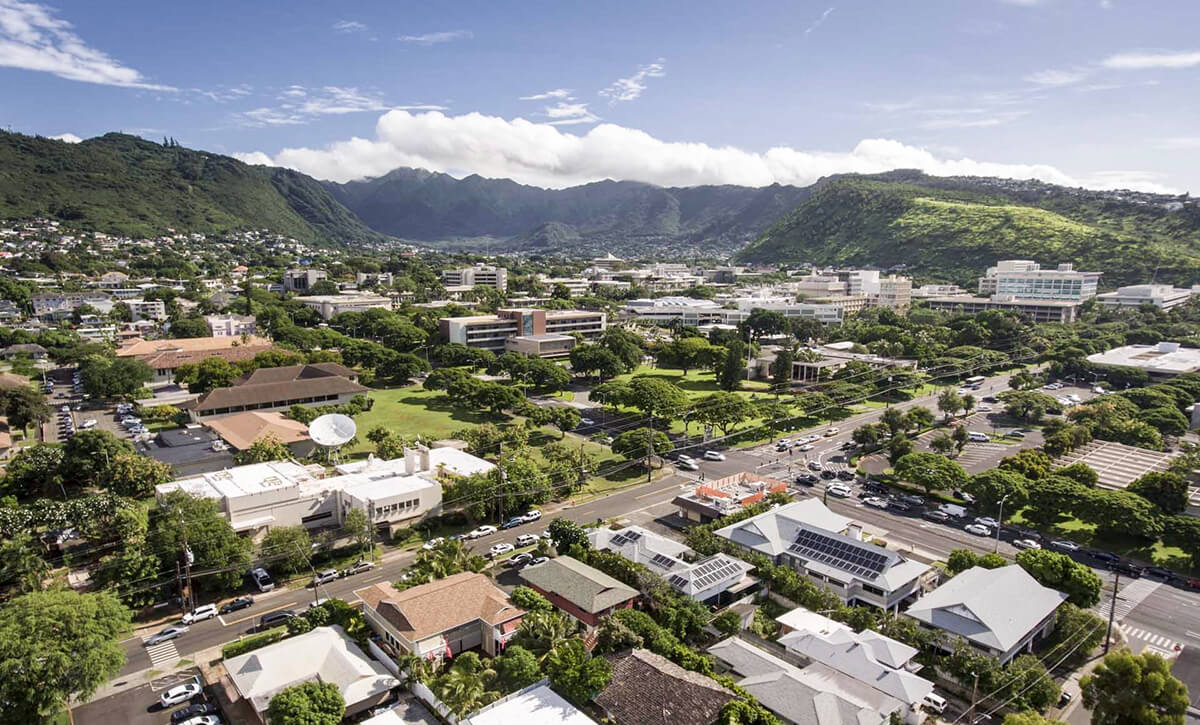 UH Mānoa is situated in beautiful Mānoa Valley