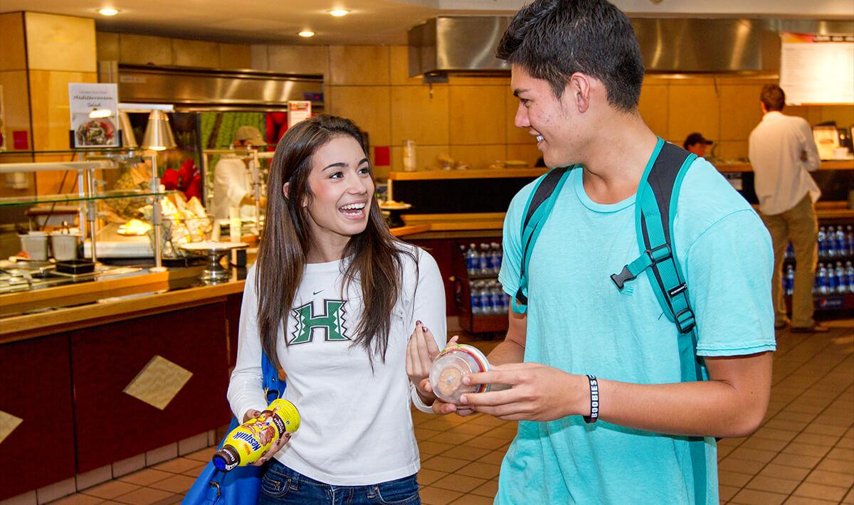 Campus Center food court