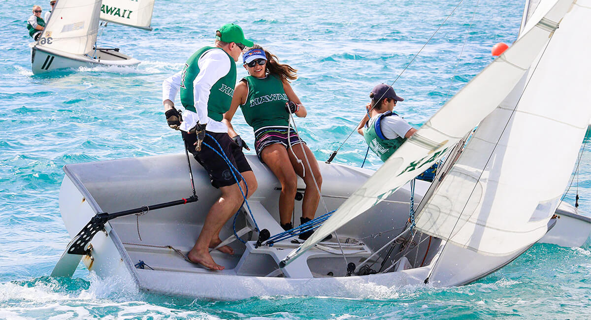 UH Mānoa students excel at sailing and other sports