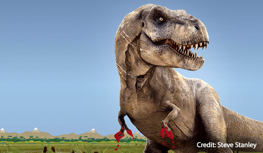 T. rex's small arms were built for slashing