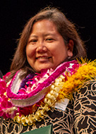 Robert W. Clopton Award for Distinguished Community Service awardee Jill Omori