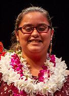 UH Manoa Student Employee of the Year Award awardee Kuaiwi Makua