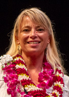 University of Hawaii at Manoa Chancellor's Citation for Meritorious Teaching awardee Lysandra Cook