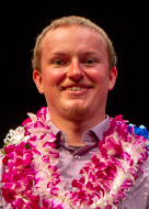 UH Manoa Student Excellence in Research Award awardee Nathaniel Wehr