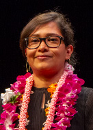 University of Hawaii at Manoa Chancellor's Citation for Meritorious Teaching awardee Priyam Das