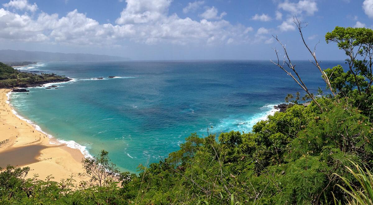 Oahu's Waiamea Bay