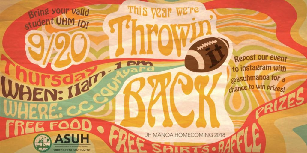Throwin' it Back! - ASUH Homecoming Event