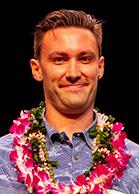Student excellence in research award winner Daniel Coffey