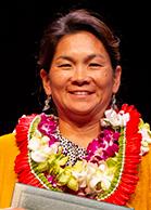 Presidential citation for meritorious teaching award winner Bliss Kaneshiro