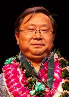Regents' medal for excellence in research award winner Tim Li